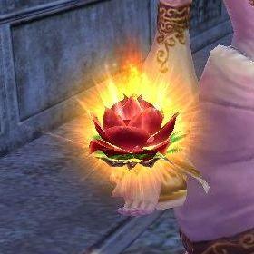 お花の武器かわゆす
