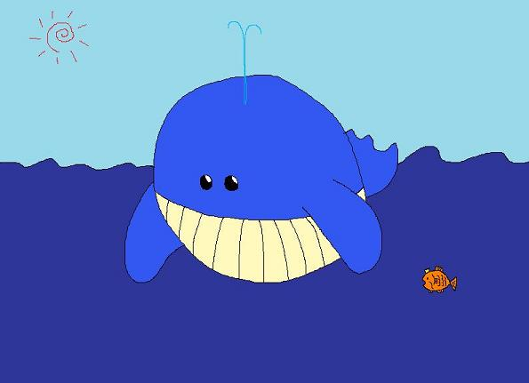 クジラとコイ