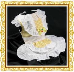 黄色ドレス2