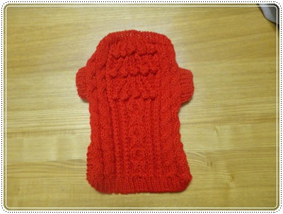 レネ赤セーター