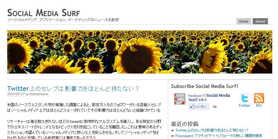 social media surf