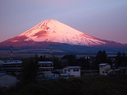 朝焼け富士 2