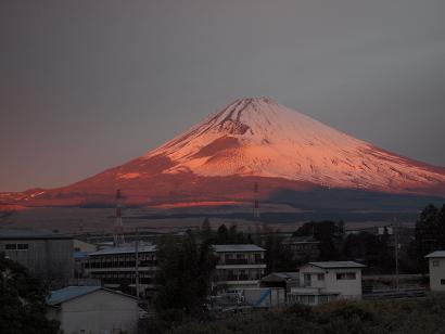 朝焼け富士 3