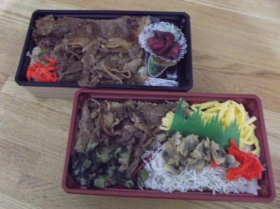 三ヶ日牛弁当 (2)