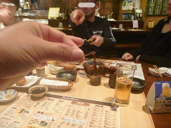 飲み会130330桜花堀蔵&黒 (2)