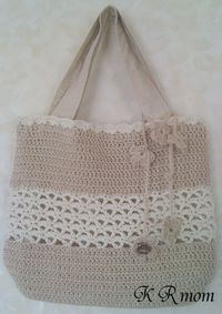 K-編みバッグ