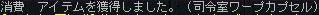 10.10.26 ワープカプセル・・・?