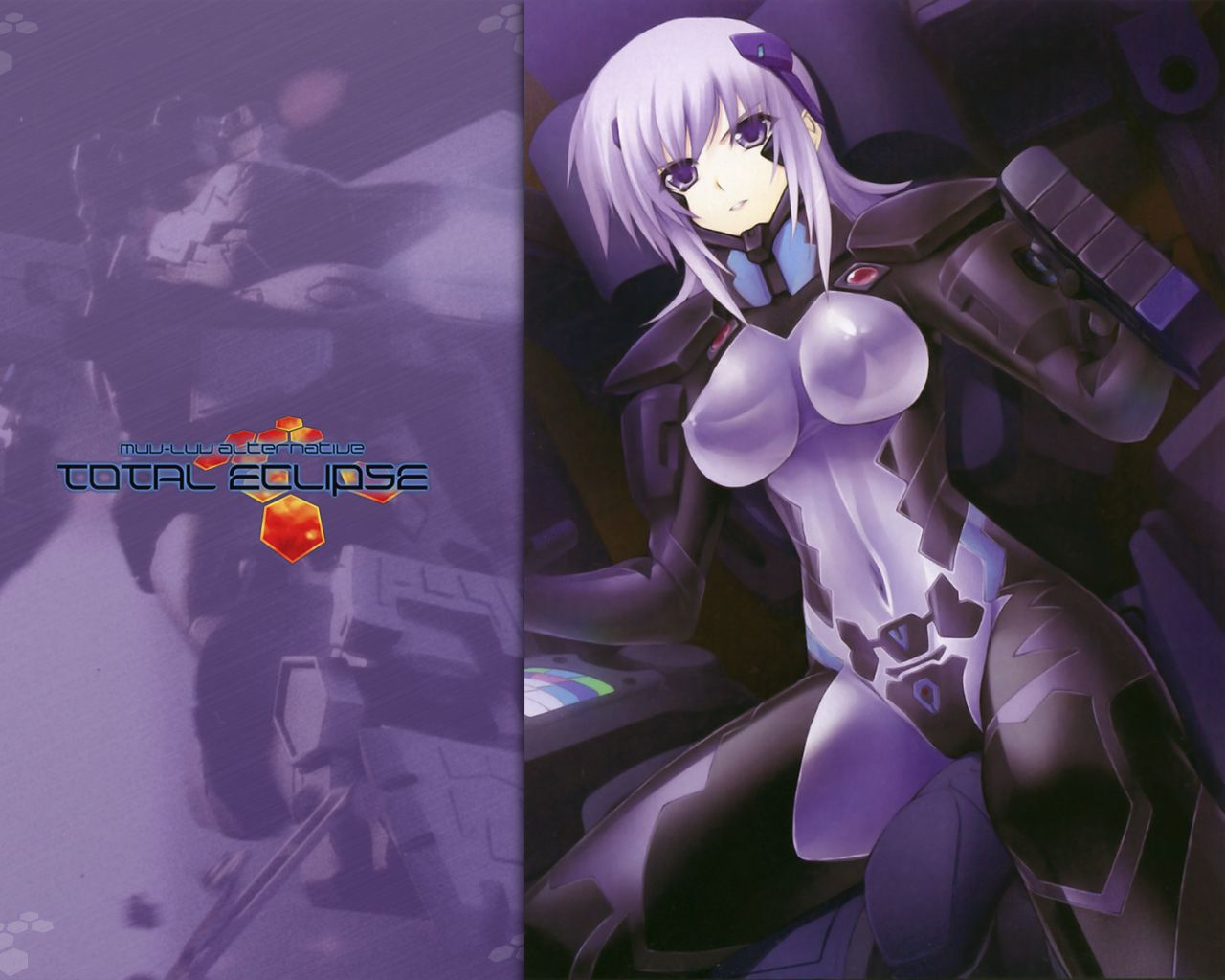 Konachan.com - 47014 iizuki_tasuku kriska_barchenowa mecha miyata_ao muv-luv_alternative total_eclipse