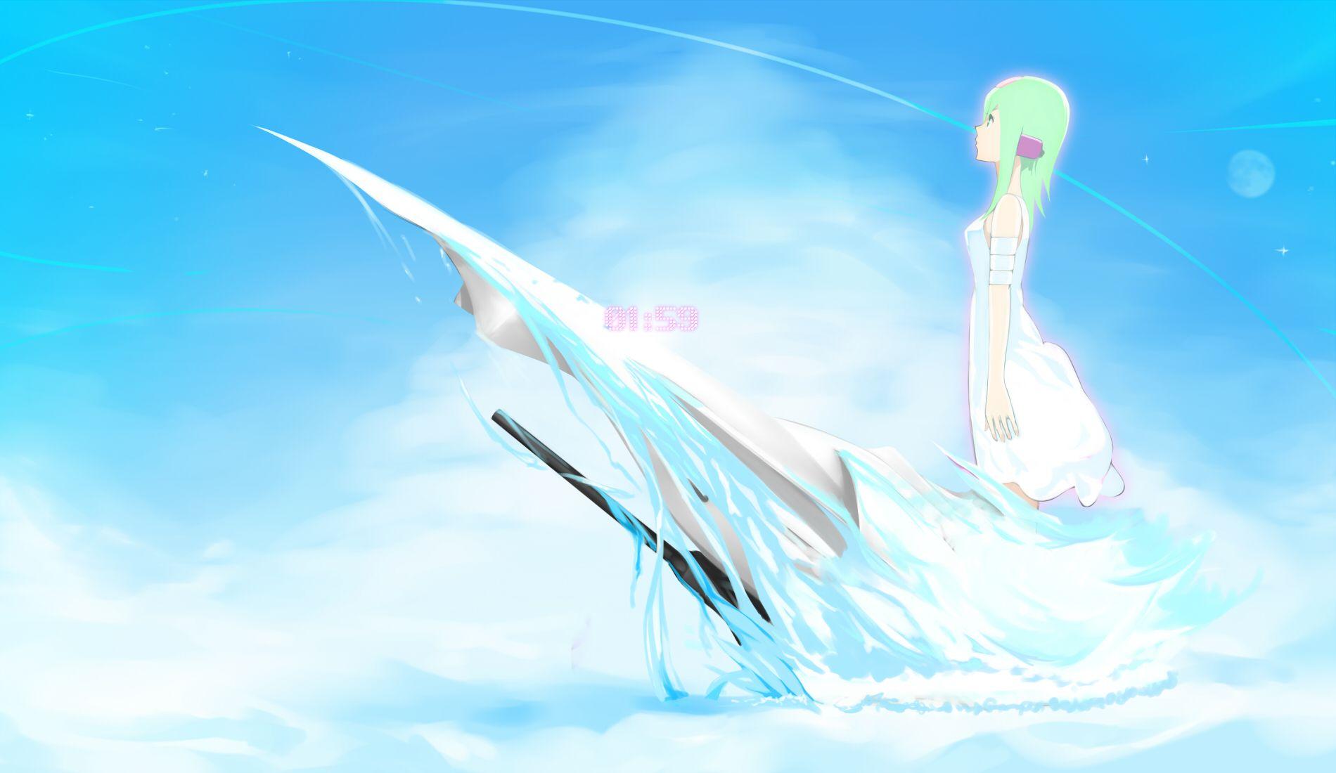 Konachan.com - 44756 bandage eureka eureka_seven penpen_(artist) sky