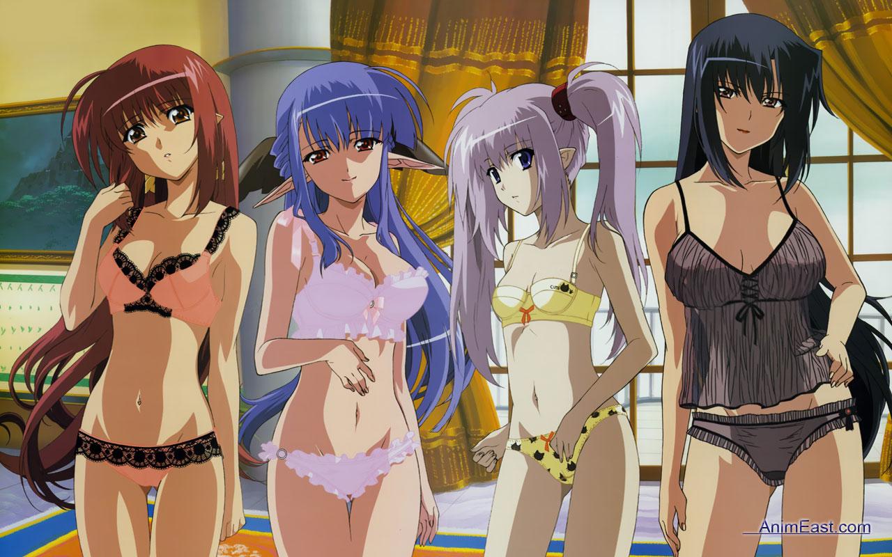 Konachan.com - 25449 benibara_nadeshiko lisianthus nerine panties <br />primula shuffle underwear
