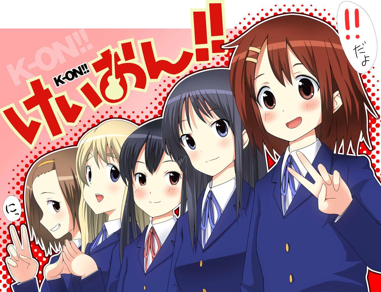 Konachan.com - 72819 akiyama_mio hirasawa_yui k-on! kotobuki_tsumugi nakano_azusa seifuku tainaka_ritsu