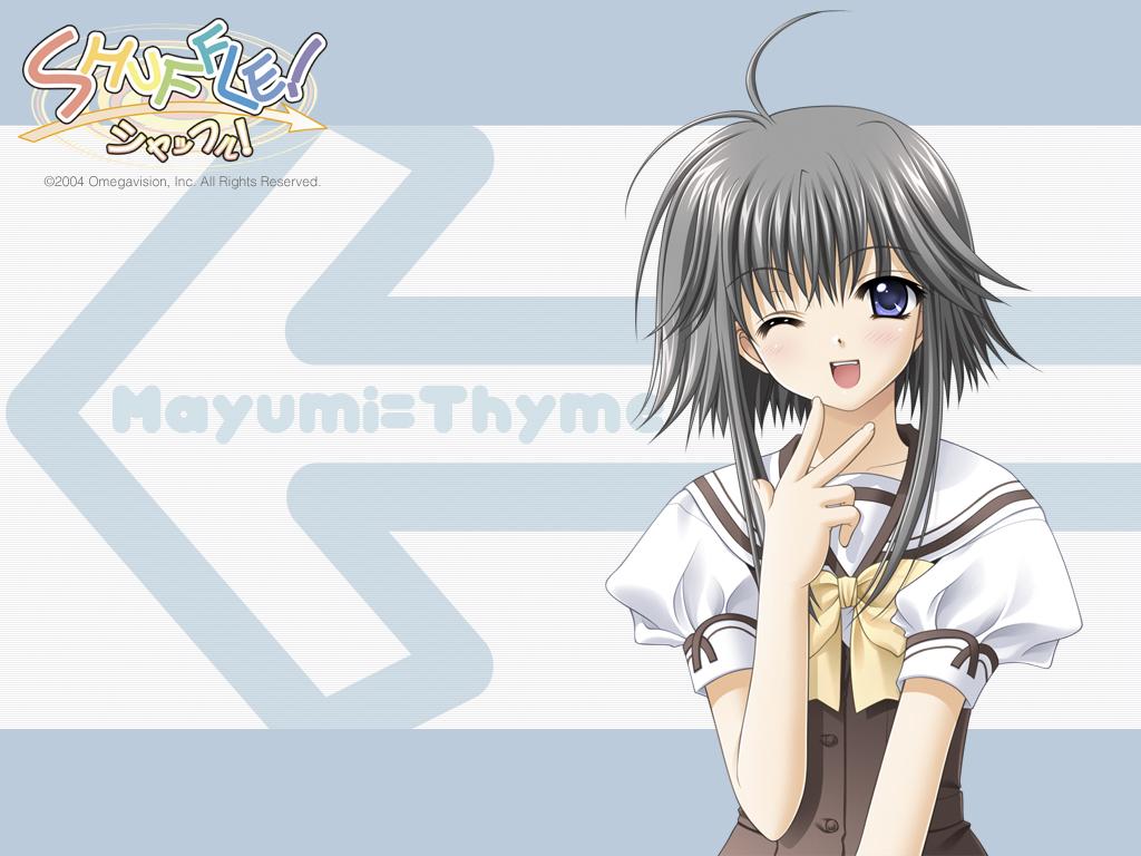 Konachan.com - 16754 mayumi_thyme nishimata_aoi shuffle