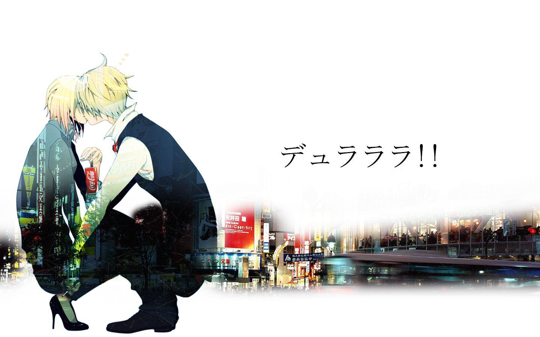 Konachan.com - 73090 blonde_hair durarara! heiwajima_shizuo short_hair vorona