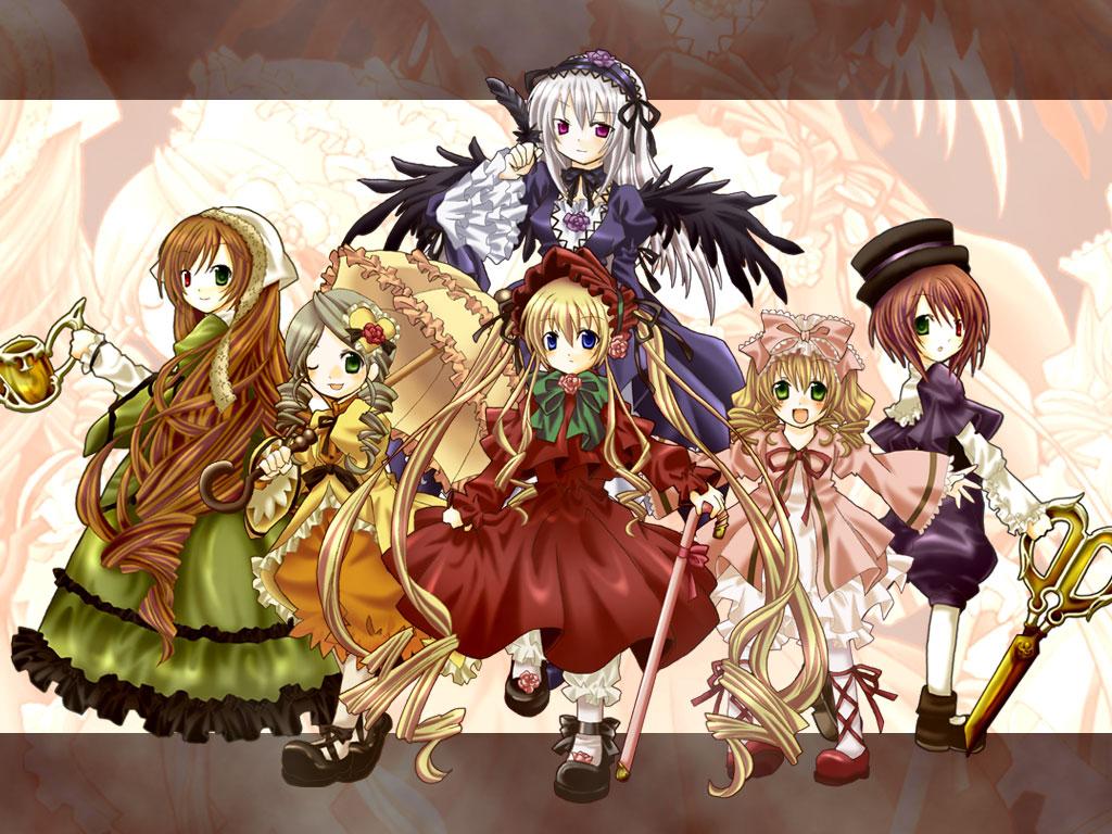Konachan.com - 59664 hina_ichigo kanaria rozen_maiden shinku souseiseki suigintou suiseiseki