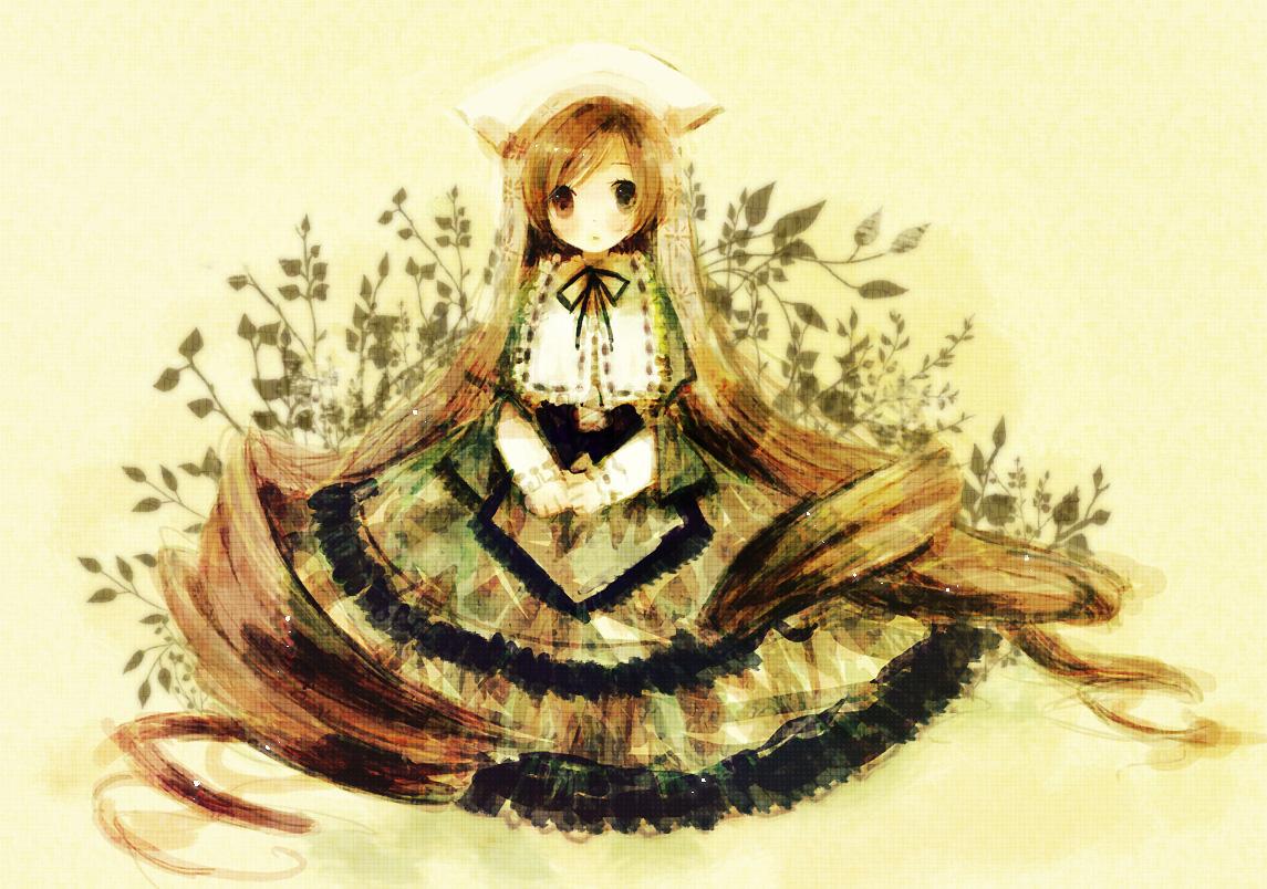Konachan.com - 54616 bicolored_eyes kashiwaba_hisano rozen_maiden suiseiseki