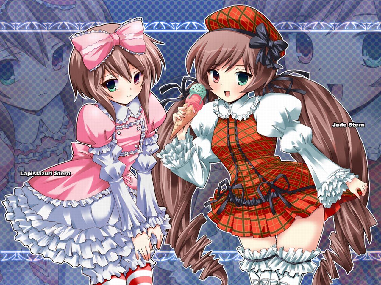 Konachan.com - 48170 rozen_maiden souseiseki suiseiseki