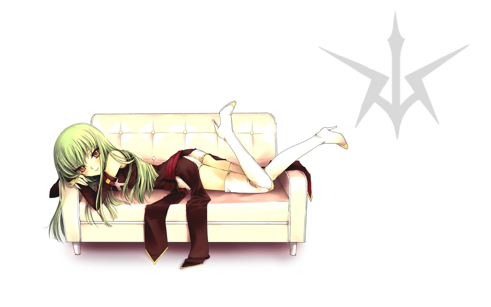 コピーKonachan.com - 42272 cc code_geass green_hair long_hair