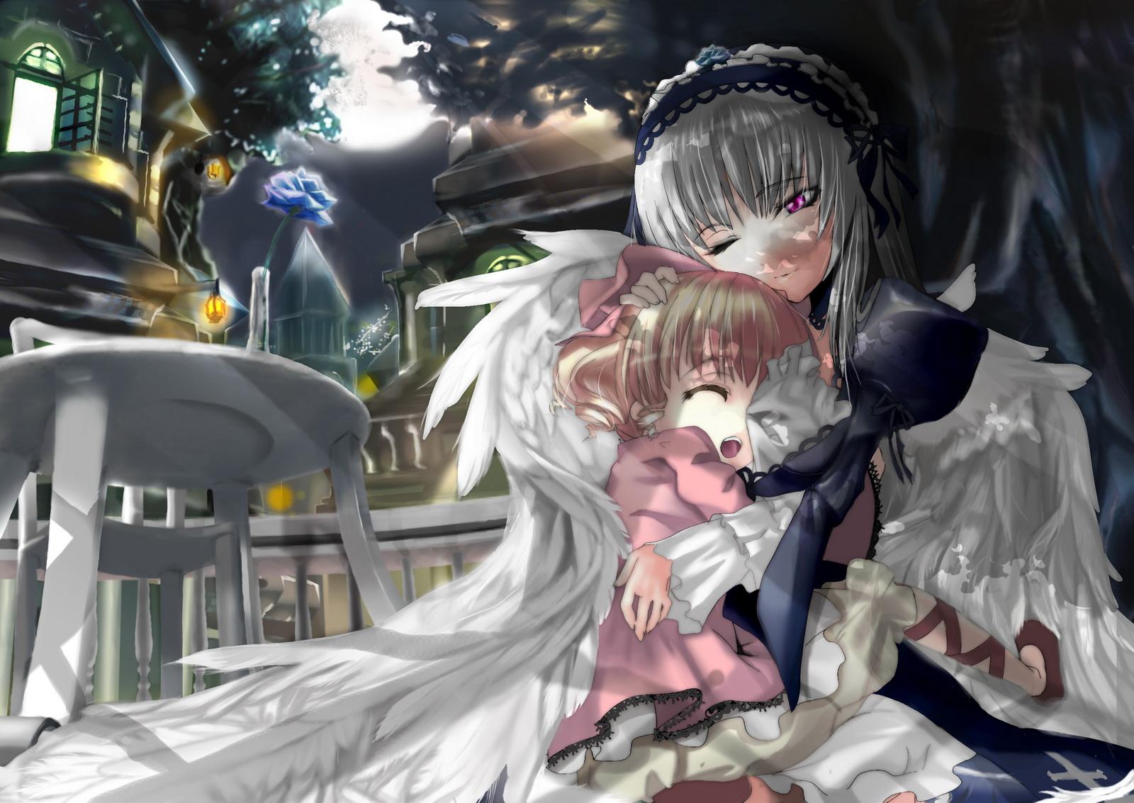 Konachan.com - 45187 hina_ichigo rozen_maiden suigintou