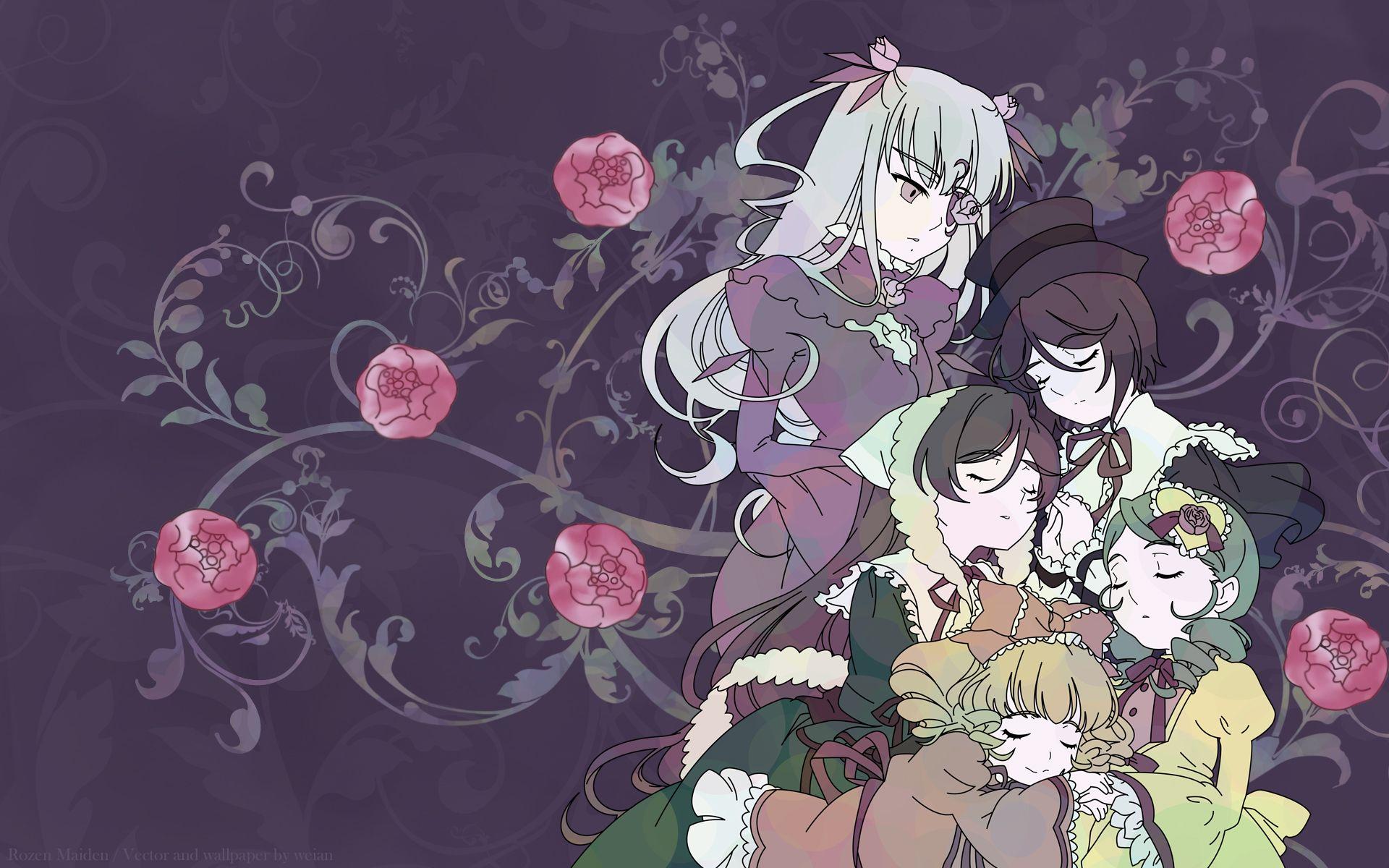 Konachan.com - 42158 barasuishou hina_ichigo kanaria rozen_maiden souseiseki suiseiseki