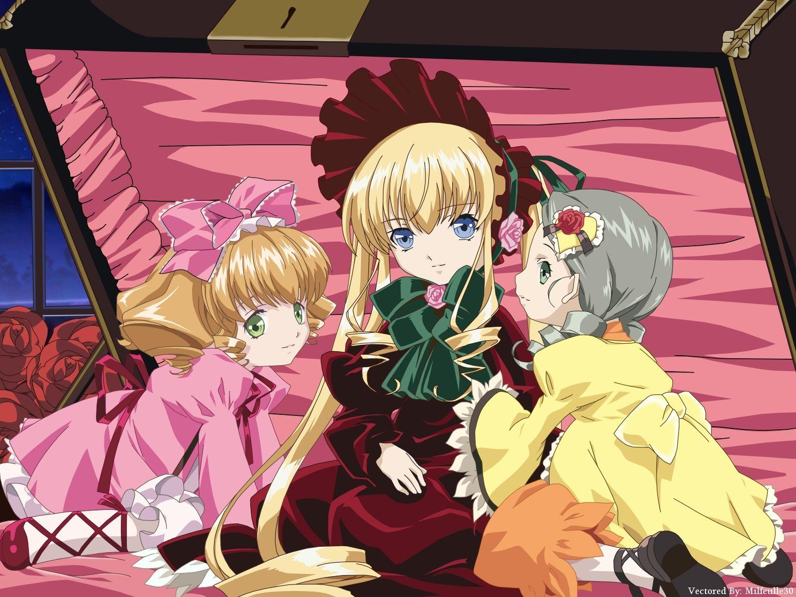 Konachan.com - 34798 hina_ichigo kanaria rozen_maiden shinku