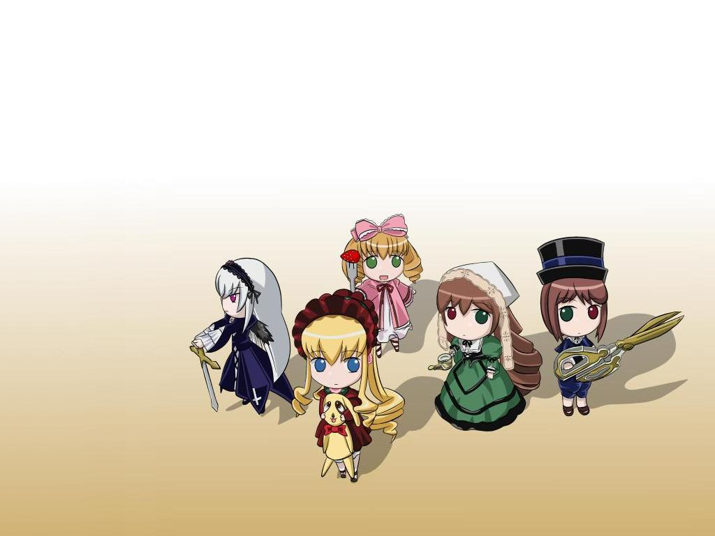 Konachan.com - 33897 hina_ichigo rozen_maiden shinku souseiseki suigintou suiseiseki