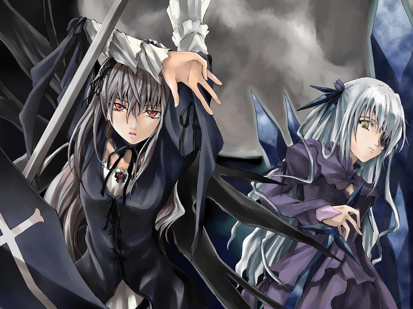 Konachan.com - 33668 barasuishou eyepatch gothic rozen_maiden suigintou