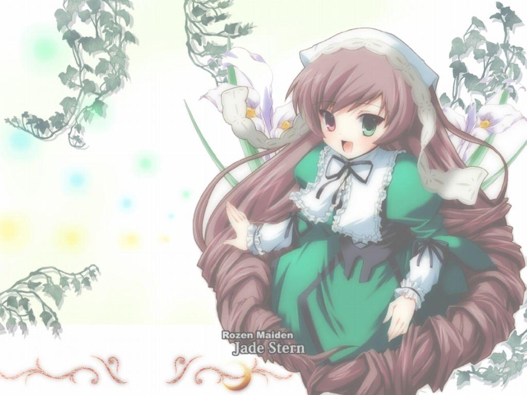 Konachan.com - 24726 bicolored_eyes jade_stern rozen_maiden suiseiseki
