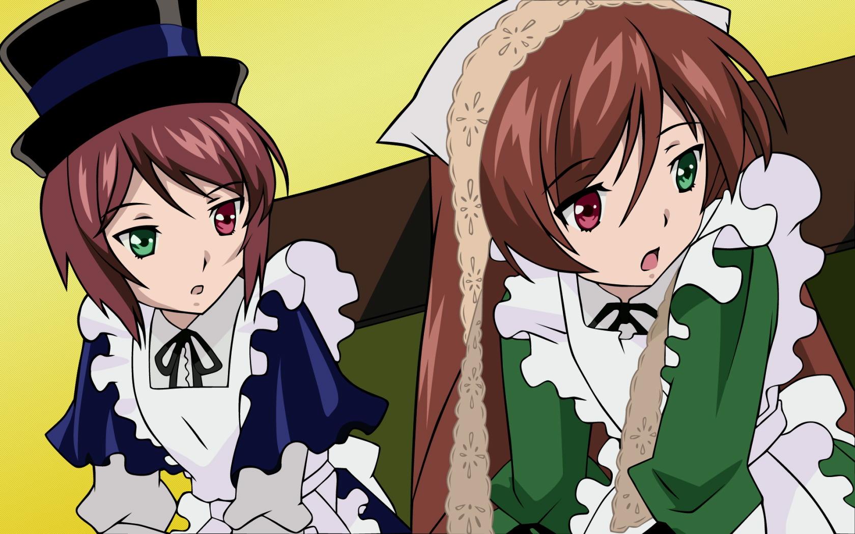 Konachan.com - 24212 bicolored_eyes doll rozen_maiden souseiseki suiseiseki