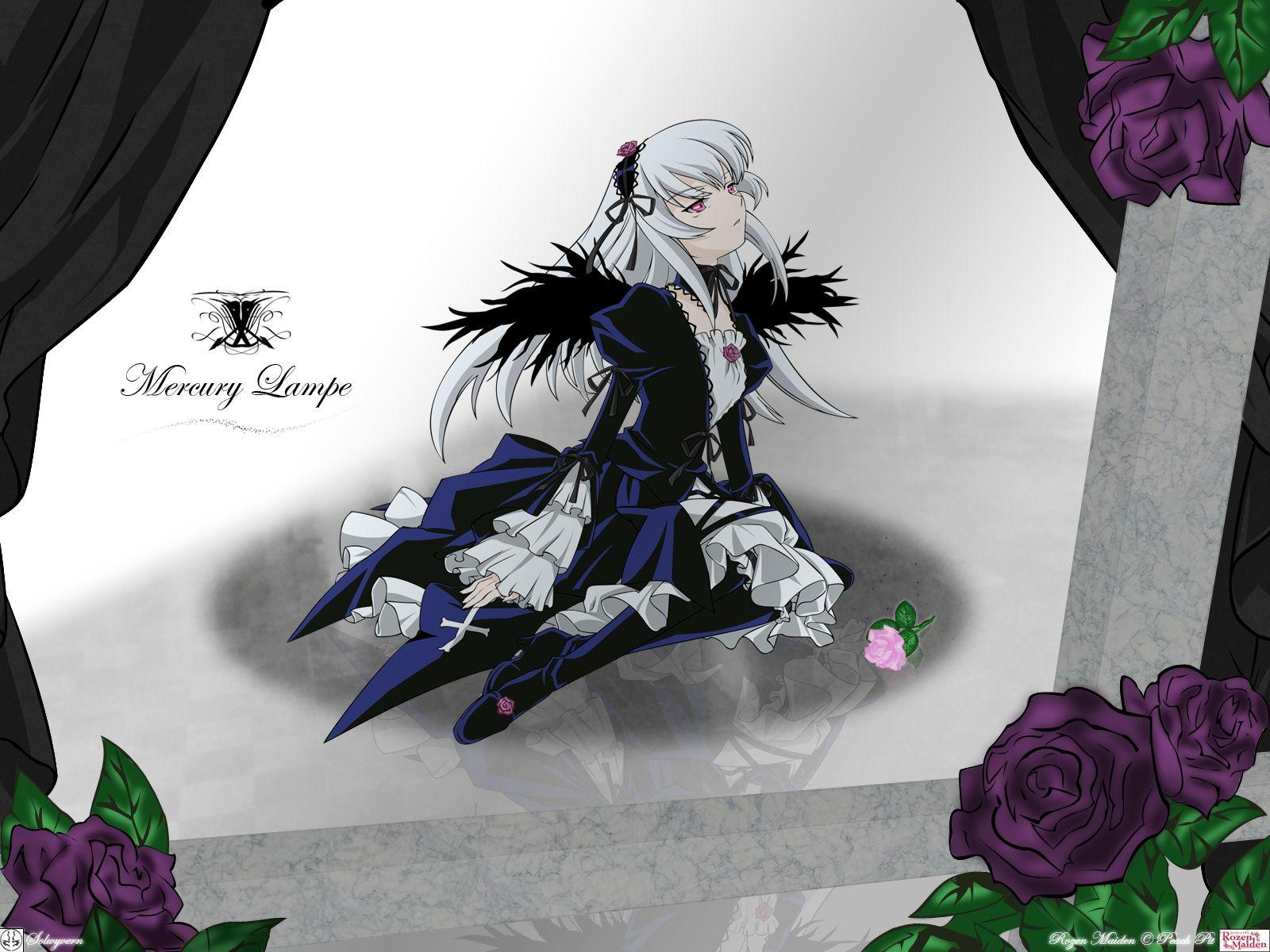 Konachan.com - 25153 flowers rozen_maiden suigintou