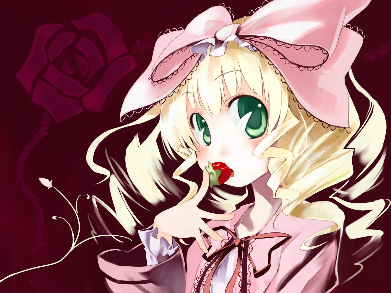 Konachan.com - 26100 hina_ichigo rozen_maiden strawberry ushiki_yoshitaka