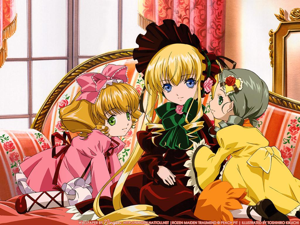 Konachan.com - 22407 hina_ichigo kanaria rozen_maiden shinku