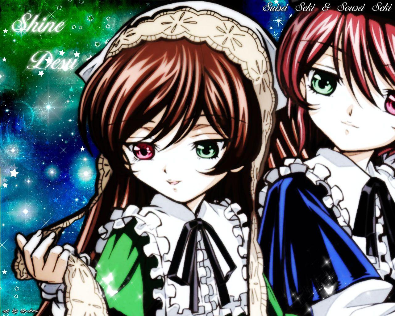 Konachan.com - 19966 bicolored_eyes rozen_maiden souseiseki suiseiseki