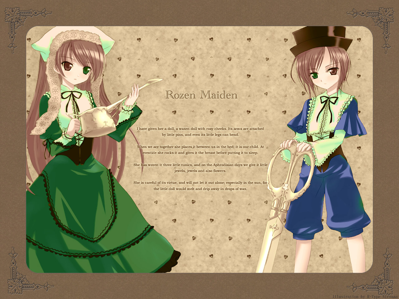 Konachan.com - 18403 rozen_maiden souseiseki suiseiseki