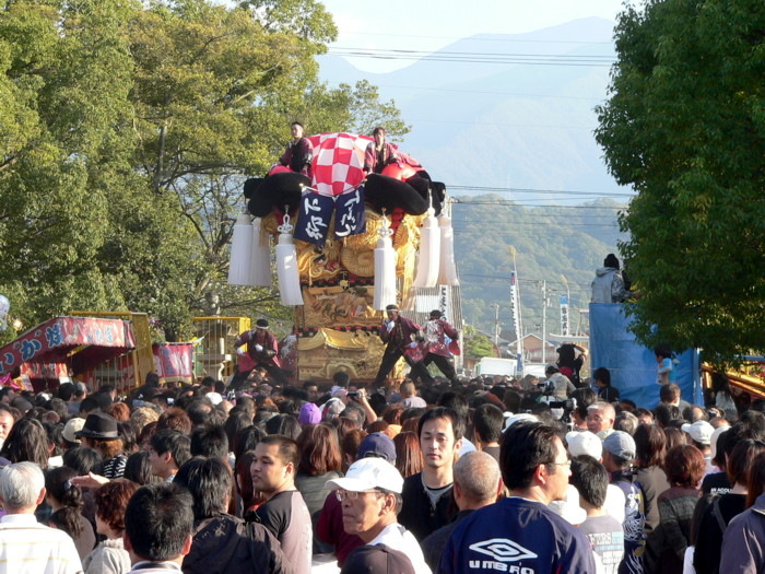 八幡神社の下郷太鼓台