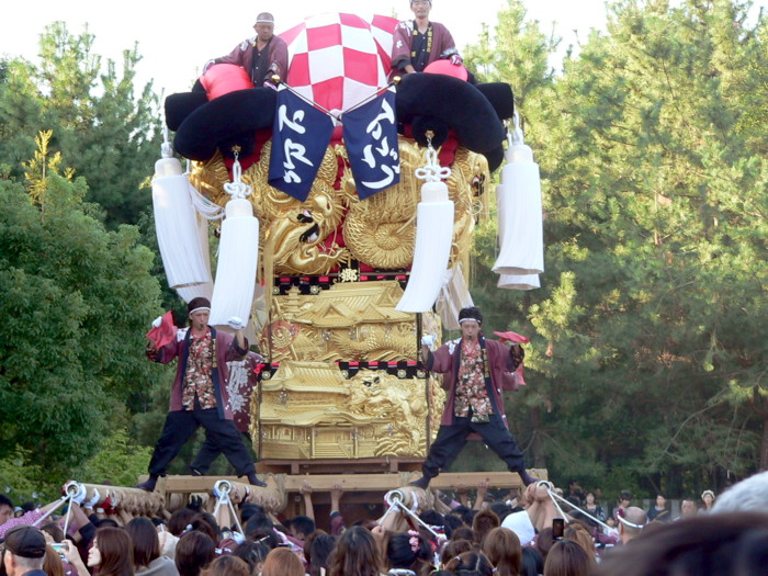 八旛神社の下郷太鼓台