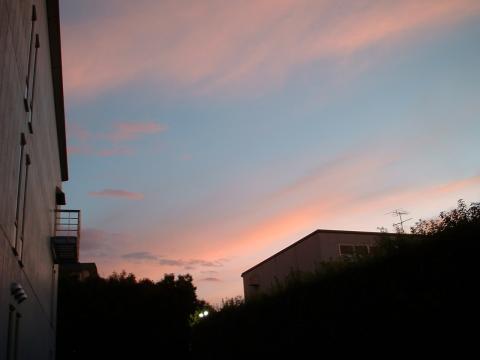 2010.7.29の朝焼け
