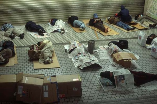 日本のホームレス