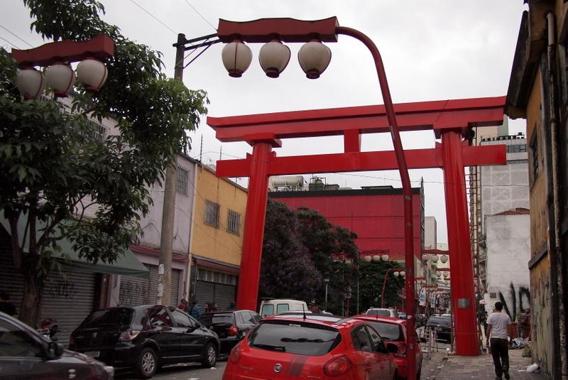■ リベルダージョ 日本人街 サンパウロ