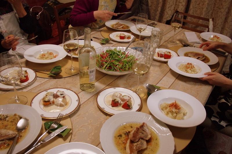 ■ イタリアンお料理教室 2013年1月