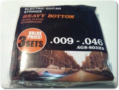 エレキギター弦3セットパック