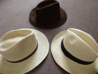 わたしは帽子が大好きです