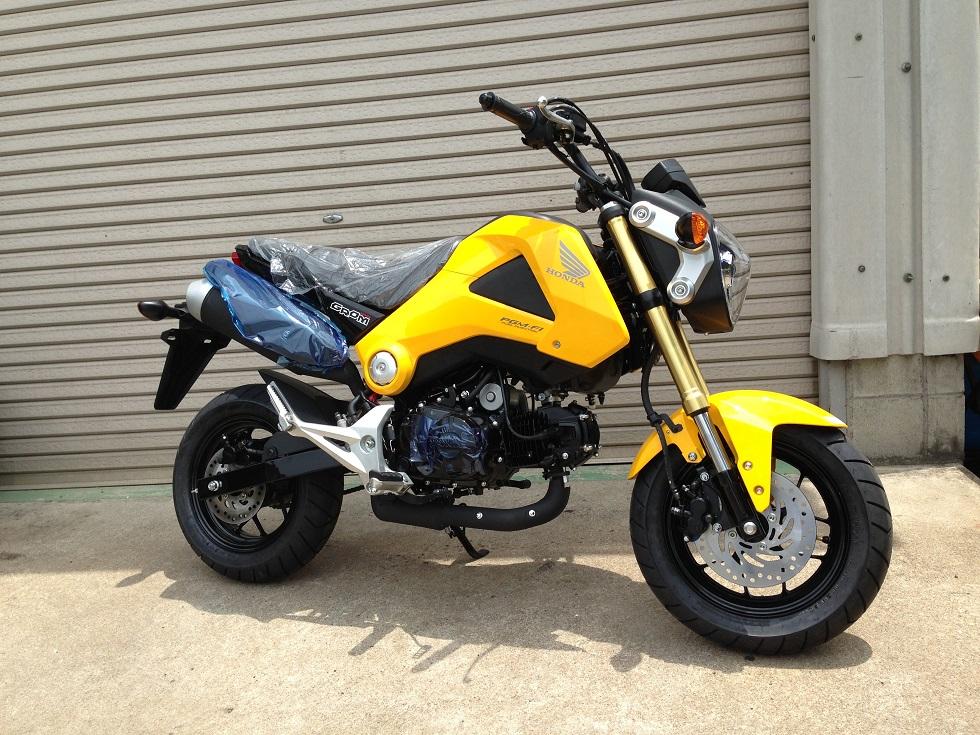 2015 Honda Grom >> ホンダ125ccバイク「GROM」入荷! - ★新着情報
