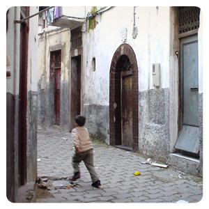 モロッコ街角