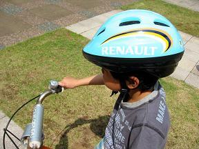 ルノーヘルメットはクール!