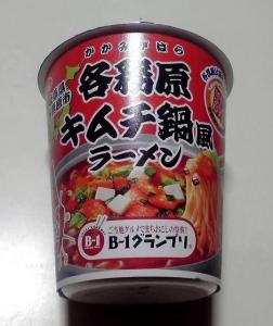 岐阜 各務原キムチ鍋風ラーメン(カップ版)
