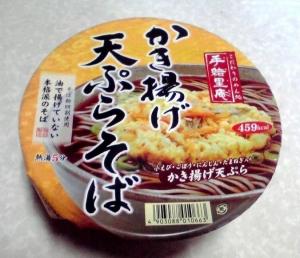 手緒里庵 かき揚げ天ぷらそば(2013年)