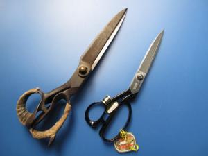 ラシャ切鋏の比較