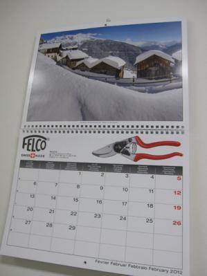 フェルコカレンダー2月