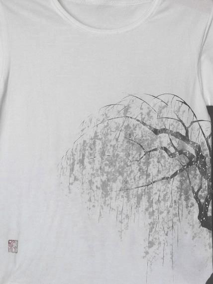 しだれ桜Tシャツ
