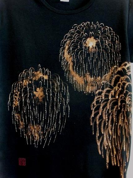手描き 花火Tシャツ 2013 (6)
